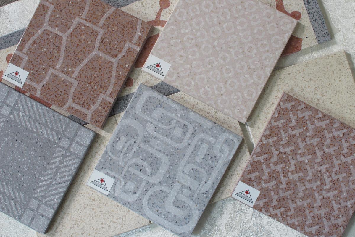 Cementine graniglie e cotto la piastrella torino